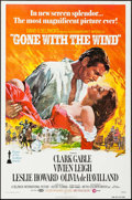 """Movie Posters:Academy Award Winners, Gone with the Wind (MGM, R-1974). One Sheet (27"""" X 41""""). Academy Award Winners.. ..."""