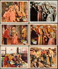 "Movie Posters:Adventure, Wee Willie Winkie (20th Century Fox, 1937). Lobby Cards (5) &Color Glos Lobby Card (11"" X 14""). Adventure.. ... (Total: 6 Items)"