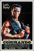 """Movie Posters:Action, Commando (20th Century Fox, 1985). One Sheet (27"""" X 41"""") Let's Party Style. Action.. ..."""