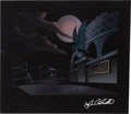 Animation Art:Concept Art, Batman: The Animated Series Pre-Production BackgroundConcept Painting (Warner Brothers, 1992)....