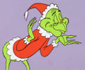 Animation Art:Production Cel, Doctor Seuss' How the Grinch Stole Christmas Production Cel(MGM, 1966)....