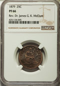 Proof Seated Quarters, 1879 25C PR66 NGC. Briggs 2-B....