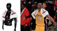 2016 Kobe Bryant Los Angeles Lakers Final 'Body Armor' Game Towel Worn During Farewell Speech