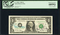 Small Size:Federal Reserve Notes, Dual Courtesy Autographed Fr. 1928-C $1 2003 Federal Reserve Note. PCGS Superb Gem New 68PPQ.. ...