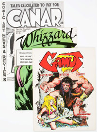 Comic Fanzine Group (c. late 1960s-70s) Average Condition: FN.... (Total: 10 Items)