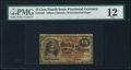 Fractional Currency:Fourth Issue, Fr. 1267 15¢ Fourth Issue PMG Fine 12.. ...