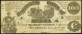 Confederate Notes:1861 Issues, T13 $100 1861 PF-3 Cr. 55A.. ...