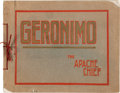 """Photography:Official Photos, Geronimo: A Wonderful Book of Photos by """"Mollie"""" Fly, Wife of C. S.Fly...."""