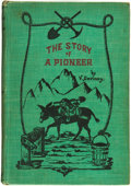 Books:Biography & Memoir, V. Devinny. The Story of a Pioneer. Denver, Colorado: TheReed Publishing Company, 1904....