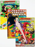Silver Age (1956-1969):Superhero, Justice League of America #59, 60, and 64 Group (DC, 1968) Condition: Average VF/NM.... (Total: 3 Comic Books)