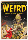 Golden Age (1938-1955):Horror, Weird Tales of the Future #4 (Aragon, 1952) Condition: FR/GD....