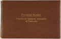 Books:Americana & American History, [State Government]. Pictorial Roster Twentieth General Assemblyof Colorado. State House, Denver: [Printed by The Br...
