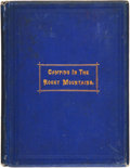 Books:Biography & Memoir, J. R. Fisher. Camping in the Rocky Mountains. Two Lectures Delivered by Rev. J.R. Fisher, in the 2D Presbyterian C...