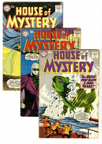 House of Mystery Silver Age Group (DC, 1959-61) Condition: Average VG 4.0. Art by Lee Elias, Doug Wildey, Carmine Infant...