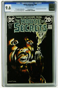 Bronze Age (1970-1979):Horror, House of Secrets #103 (DC, 1973) CGC NM+ 9.6 Off-white to whitepages. Bernie Wrightson cover. Art by Sergio Aragones, Rico ...