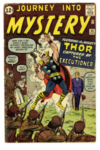 Journey Into Mystery #84 (Marvel, 1962) Condition: Apparent VG. Second appearance of Thor. First appearance of Jane Fost...