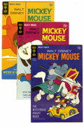 Bronze Age (1970-1979):Cartoon Character, Mickey Mouse Group (Gold Key, 1967-84) Condition: Average VF+. Thisfull short box lot features two copies each of Mickey ...