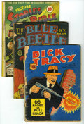 Golden Age (1938-1955):Miscellaneous, Miscellaneous Golden Age Group (Various Publishers, 1939-43) Condition: Average FR. Includes Dick Tracy #8; Sport Comi... (Total: 12 Comic Books)