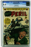 Golden Age (1938-1955):Horror, Operation Peril #3 Mile High pedigree (ACG, 1951) CGC FN 6.0Off-white to white pages. Ogden Whitney cover and art. Overstre...