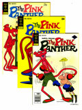 Bronze Age (1970-1979):Cartoon Character, Pink Panther Group (Gold Key, 1973-82) Condition: Average VF+. Thisfull short box lot features Pink Panther #12 (seven ...
