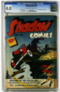 Golden Age (1938-1955):Crime, Shadow Comics #9 (Street & Smith, 1944) CGC VG 4.0 Light tan to off-white pages. Norgil the Magician appearance. Vernon Gree...