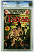 Bronze Age (1970-1979):Miscellaneous, Tarzan #210 (DC, 1972) CGC NM+ 9.6 White pages. Origin of Tarzan. Joe Kubert story, cover, and art. This is currently the hi...