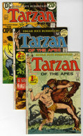 Bronze Age (1970-1979):Miscellaneous, Tarzan Group (DC, 1972-73) Condition: Average VF/NM. This groupcontains issues #207 (two copies), 208 (two copies), 212, 21...(Total: 8 Comic Books)