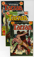 Bronze Age (1970-1979):Miscellaneous, Tarzan Group (DC, 1973-74) Condition: Average VF/NM. This groupcontains issues #217, 218, 219 (three copies), 220 (three co...(Total: 13 Comic Books)