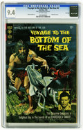 Silver Age (1956-1969):Adventure, Voyage to the Bottom of the Sea #4 File Copy (Gold Key, 1966) CGC NM 9.4 Off-white pages. Alberto Giolitti art. Photo back c...