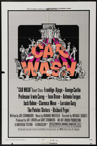 """Car Wash (Universal, 1976). One Sheet (27"""" X 41""""). Richard Pryor stars in this comedy about a money-hungry pre..."""