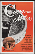 """Movie Posters:Sports, Casey at the Met(s) (Universal, 1963). One Sheet (27"""" X 41""""). Hall-Of-Famer Casey Stengal's professional career spanned 54 y..."""
