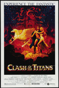 "Movie Posters:Fantasy, Clash of the Titans (MGM, 1981). One Sheet (27"" X 41""). Among the Hollywood gods and goddesses featured in this stop-motion ..."