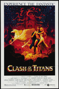 "Clash of the Titans (MGM, 1981). One Sheet (27"" X 41""). Among the Hollywood gods and goddesses featured in thi..."