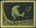 "Movie Posters:Horror, The Demon Barber of Fleet Street (Select Attractions, 1939). Lobby Cards (3) (11"" X 14""). The precursor to the Sondheim musi... (Total: 3 Items)"