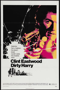 """Dirty Harry (Warner Brothers, 1971). One Sheet (27"""" X 41""""). Clint Eastwood asked the pivotal question, """"D..."""