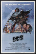 "Movie Posters:Science Fiction, The Empire Strikes Back (20th Century Fox, 1980). One Sheet (27"" X41""). Style ""B."" In this sequel to ""Star Wars,"" the Empir..."
