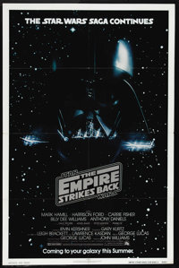 """The Empire Strikes Back (20th Century Fox, 1980). Advance One Sheet (27"""" X 41""""). Although he is never seen in..."""