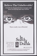 """Movie Posters:Documentary, In Search of Dracula (Independent-International, 1975). One Sheet (27"""" X 41""""). This documentary did exactly what the title s..."""