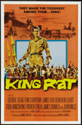 "Movie Posters:War, King Rat (Columbia, 1965). One Sheet (27"" X 41""). Based on JamesClavell's novel, this intense movie set in a Japanese priso..."