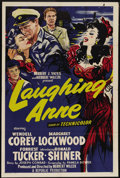 "Movie Posters:Action, Laughing Anne (Republic, 1954). One Sheet (27"" X 41""). Loosely based on a Joseph Conrad story, this film stars Margaret Lock..."