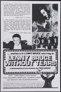 """Movie Posters:Documentary, Lenny Bruce Without Tears (Fred Baker Films, 1972). One Sheet (27"""" X 41""""). Lenny Bruce was the cutting edge of socially awar..."""