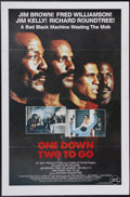"""Movie Posters:Action, One Down, Two to Go (Almi Pictures, 1982). One Sheet (27"""" X 41"""").The All-Stars of Blaxploitation join up in this fight to t..."""