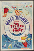 "Movie Posters:Animated, The Pelican and the Snipe (RKO, R-1955). One Sheet (27"" X 41"").This Walt Disney classic tells the story of a pelican and a ..."
