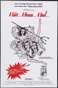 """Movie Posters:Bad Girl, A Saint... a Woman... a Devil (Savage Productions, 1980). One Sheet(27"""" X 41""""). A low-budget exploitation film about multip..."""