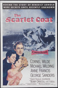 "Movie Posters:Adventure, The Scarlet Coat (MGM, 1955). One Sheet (27"" X 41""). The treason ofBenedict Arnold and his co-conspirators is examined in t..."