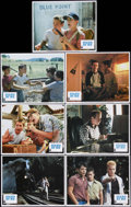 "Movie Posters:Adventure, Stand By Me (Columbia, 1986). Lobby Cards (7) (11"" X 14""). ""You guys wanna go see a dead body?"" Four pre-teen boys go lookin... (Total: 7 Items)"