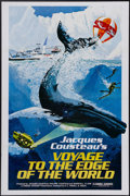 "Movie Posters:Documentary, Voyage to the Edge of the World (Pacific International Enterprises, 1977). One Sheet (27"" X 41""). On a 1975 expedition, ocea..."