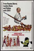 "Movie Posters:Comedy, Where the Spies Are (MGM, 1965). One Sheet (27"" X 41""). David Niven, Françoise Dorléac and Noel Harrison star in this spoof ..."