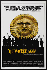 """The Wicker Man (National General, 1980). One Sheet (27"""" X 41""""). Edward Woodward, Christopher Lee and Britt Ekl..."""