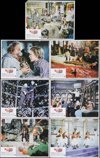 """Willy Wonka & the Chocolate Factory (Paramount, 1971). Lobby Cards (7) (11"""" X 14""""). Roald Dahl adapted..."""